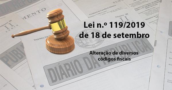 Lei n.º 119/2019, de 18/09